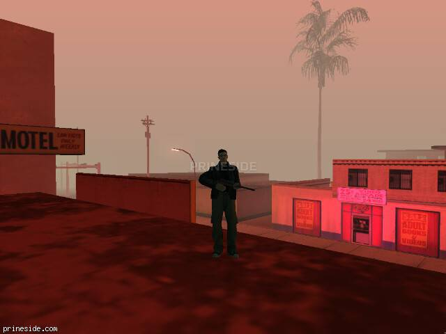 GTA San Andreas weather ID -168 at 23 hours