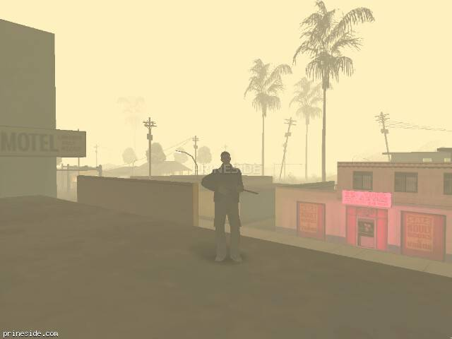 GTA San Andreas weather ID 600 at 4 hours
