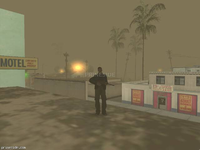 GTA San Andreas weather ID 88 at 7 hours