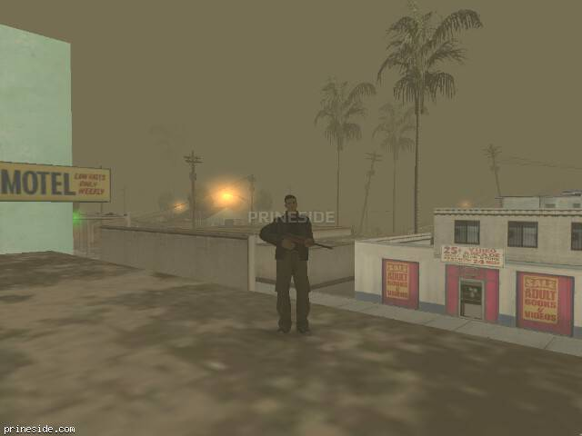GTA San Andreas weather ID -168 at 8 hours