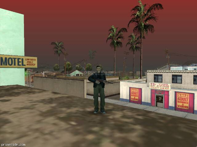 GTA San Andreas weather ID 89 at 14 hours