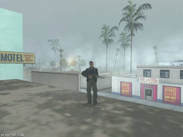 GTA San Andreas weather ID -1527 at 10 hours