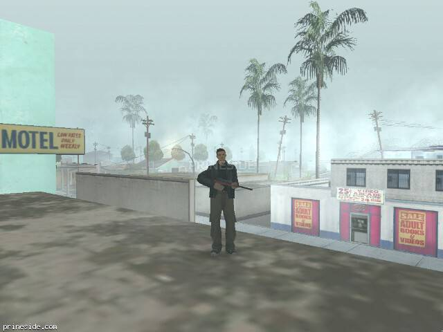 GTA San Andreas weather ID 9 at 11 hours
