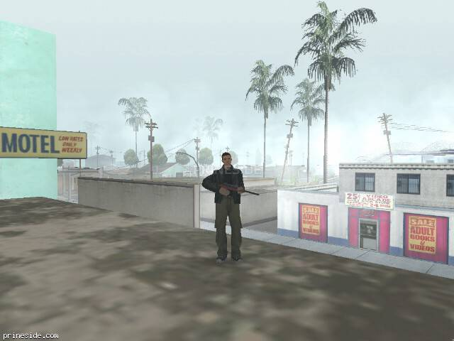 GTA San Andreas weather ID -247 at 13 hours