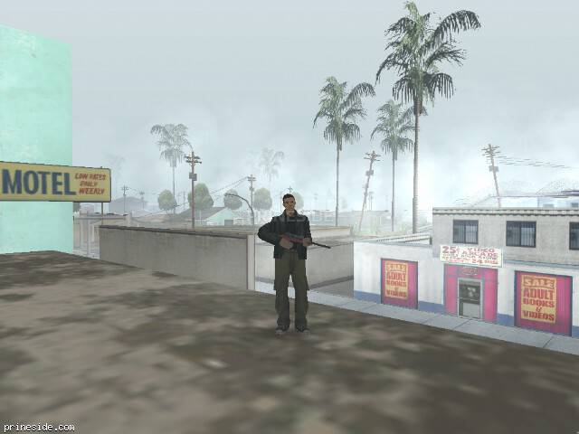 GTA San Andreas weather ID -247 at 14 hours