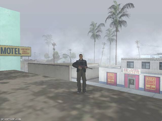 GTA San Andreas weather ID -1527 at 17 hours