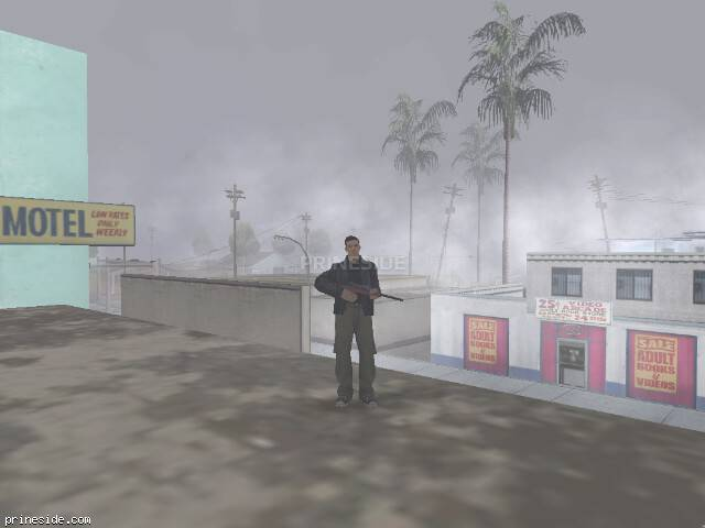 GTA San Andreas weather ID -503 at 19 hours