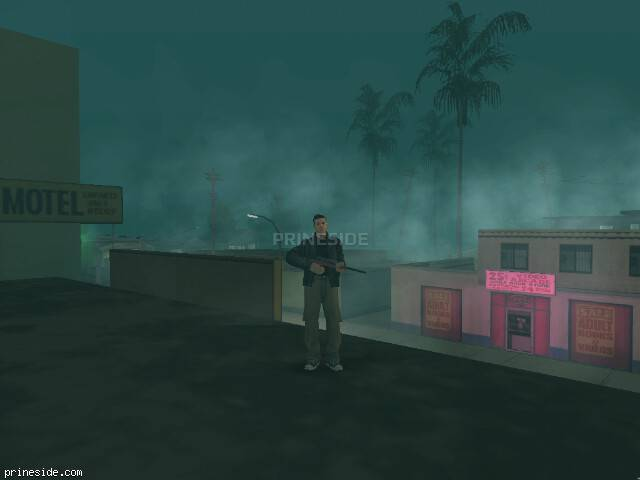 GTA San Andreas weather ID -2295 at 21 hours