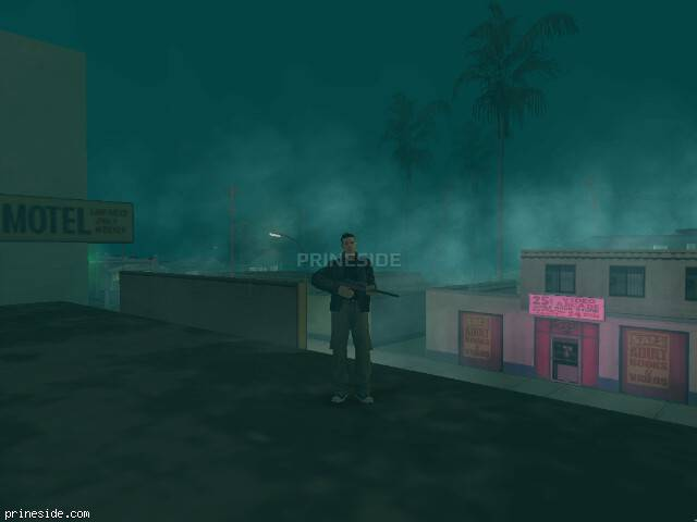 GTA San Andreas weather ID 265 at 22 hours