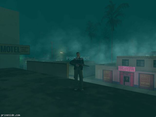 GTA San Andreas weather ID -1271 at 23 hours
