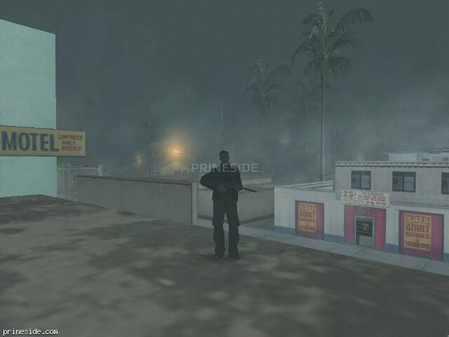 GTA San Andreas weather ID 9 at 7 hours