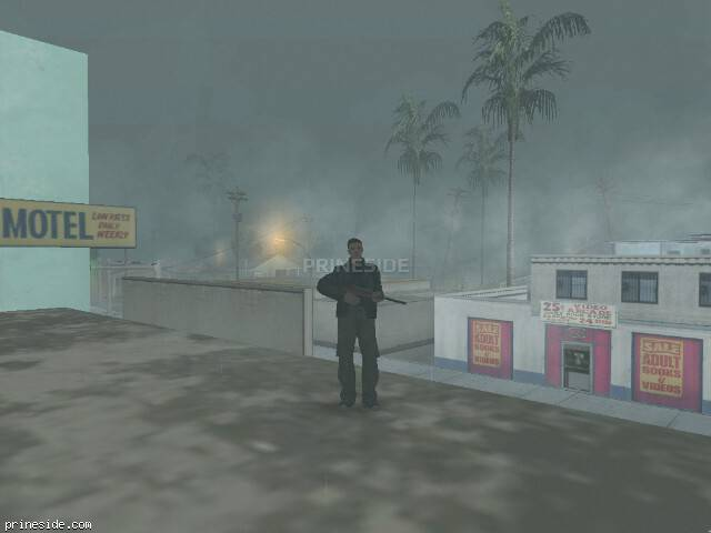 GTA San Andreas weather ID 9 at 8 hours