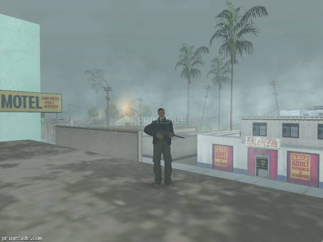 GTA San Andreas weather ID 9 at 9 hours