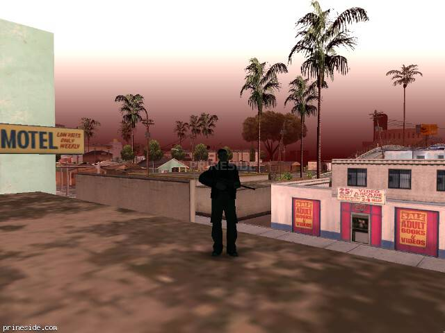 GTA San Andreas weather ID 90 at 13 hours