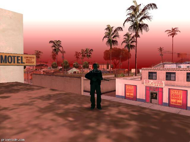 GTA San Andreas weather ID 90 at 14 hours