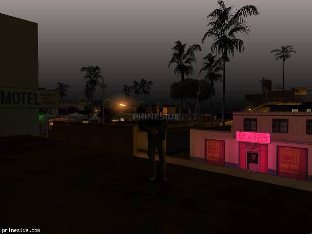 GTA San Andreas weather ID 90 at 2 hours