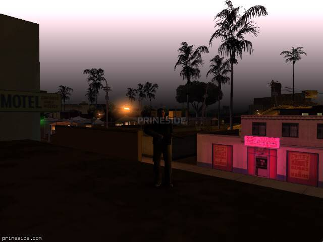 GTA San Andreas weather ID 90 at 4 hours