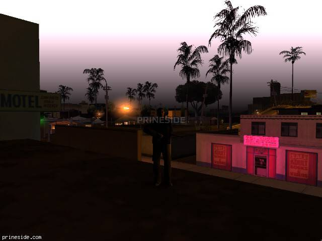 GTA San Andreas weather ID 90 at 5 hours