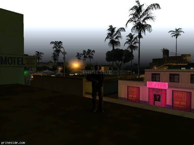 GTA San Andreas weather ID 90 at 6 hours