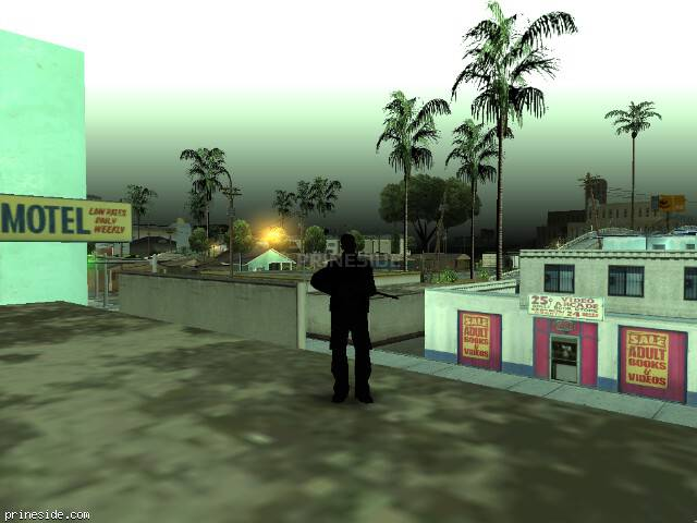 GTA San Andreas weather ID 90 at 7 hours
