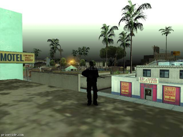 GTA San Andreas weather ID 90 at 9 hours