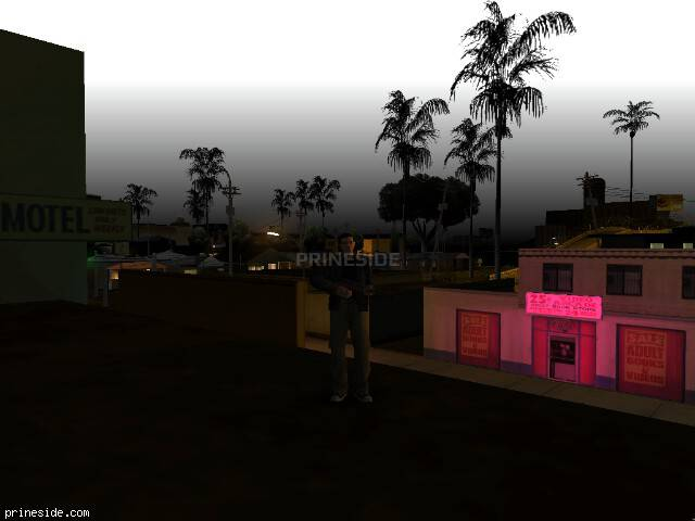 GTA San Andreas weather ID 91 at 0 hours