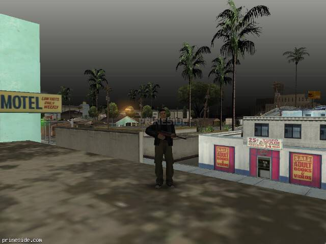 GTA San Andreas weather ID 91 at 10 hours