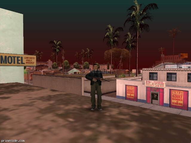GTA San Andreas weather ID 91 at 13 hours