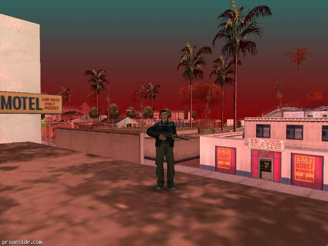 GTA San Andreas weather ID 91 at 14 hours