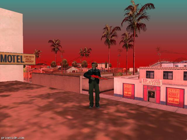 GTA San Andreas weather ID 91 at 15 hours