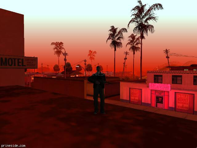 GTA San Andreas weather ID 859 at 23 hours