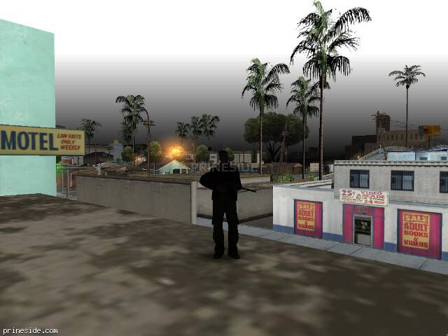 GTA San Andreas weather ID 603 at 7 hours
