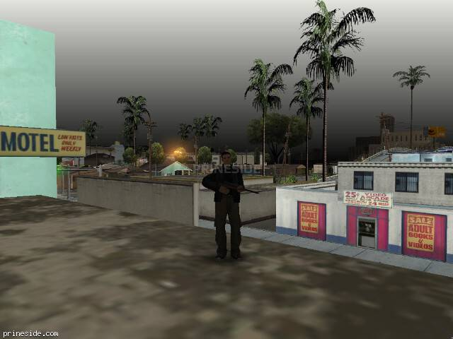 GTA San Andreas weather ID 91 at 9 hours