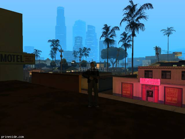 GTA San Andreas weather ID 1116 at 5 hours