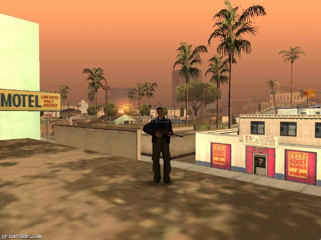 GTA San Andreas weather ID 348 at 7 hours