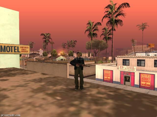 Просмотр погоды GTA San Andreas с ID 348 в 8 часов