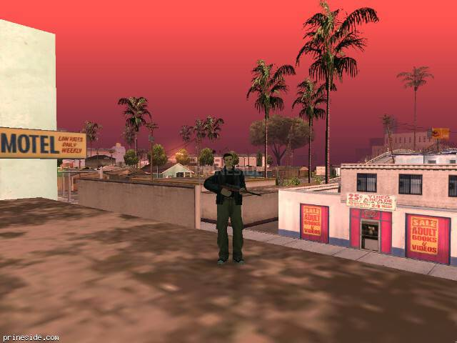 Просмотр погоды GTA San Andreas с ID 348 в 9 часов