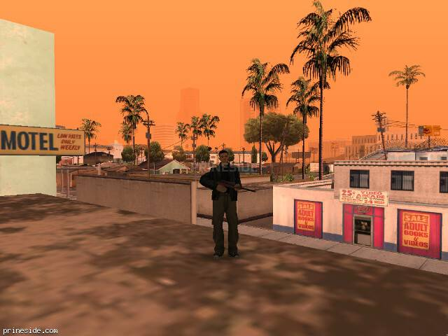 GTA San Andreas weather ID 93 at 8 hours