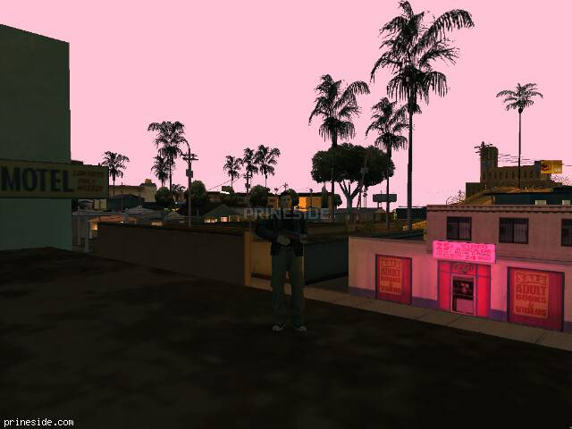 GTA San Andreas weather ID 96 at 23 hours