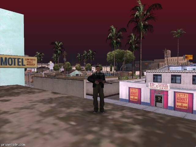 GTA San Andreas weather ID 96 at 8 hours
