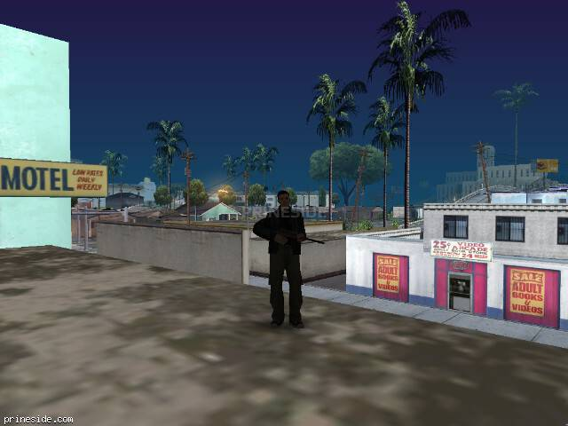 GTA San Andreas weather ID 97 at 7 hours