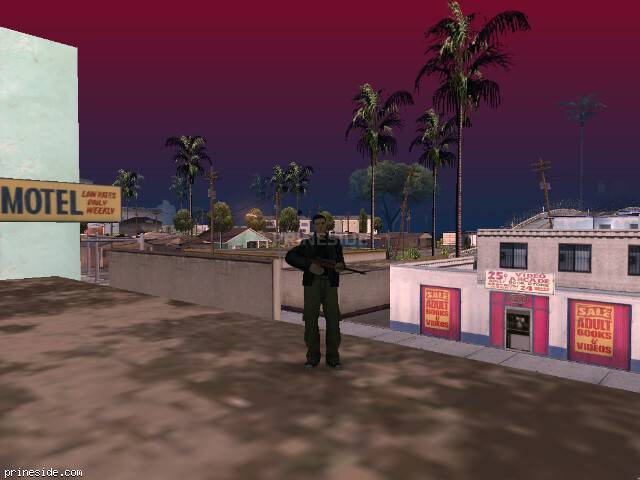 GTA San Andreas weather ID 97 at 9 hours