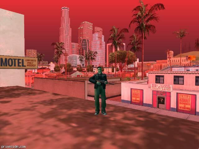 Просмотр погоды GTA San Andreas с ID 99 в 20 часов