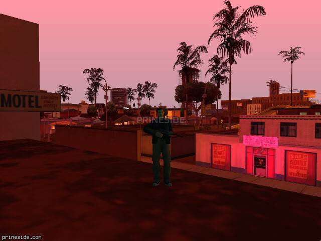 GTA San Andreas weather ID 99 at 23 hours